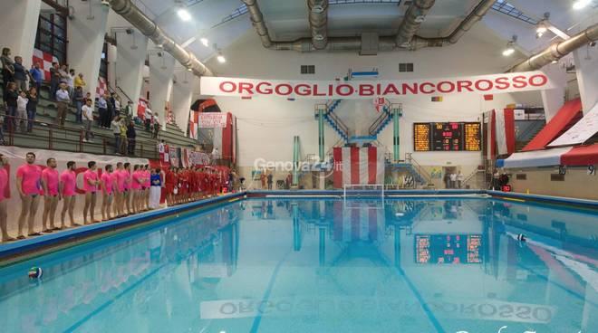 Genova Quinto  BB Vs An Brescia Serie A1 Pallanuoto