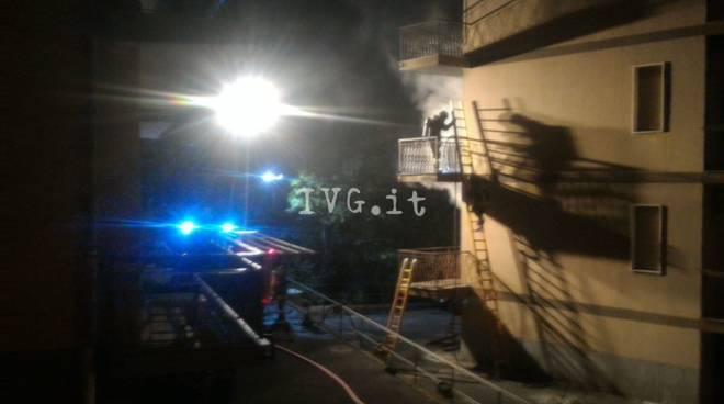 incendio ceriale via magnone
