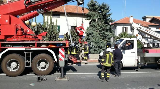incidente camion borghetto