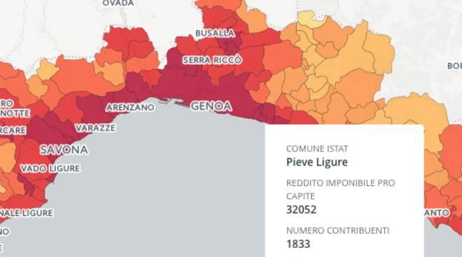 mappa redditi
