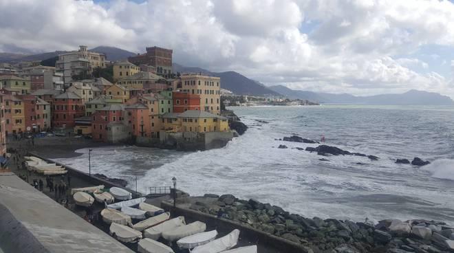 mareggiata a Genova 5 marzo 2017