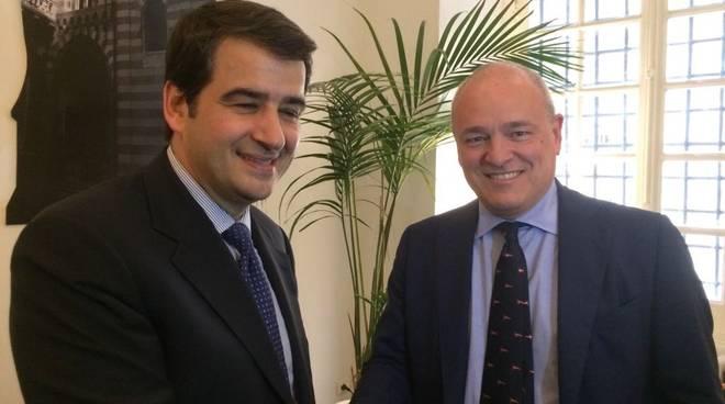 Raffaele Fitto, Enrico Musso
