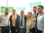 Salvini, Meloni, Toti, Rixi e Levaggi