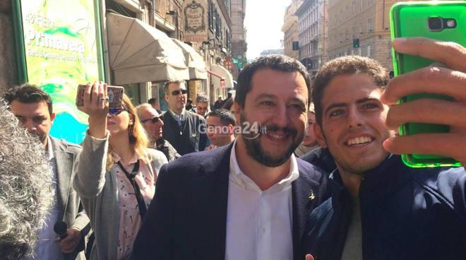 Salvini per Bucci