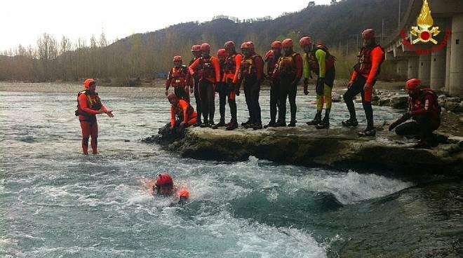 soccorso fluviale alluvionale vigili del fuoco vvff
