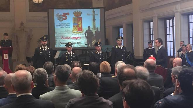 165° anniversario Festa Polizia