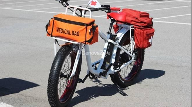 Bici ambulanza