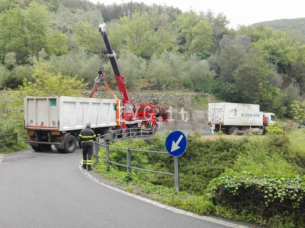 camion bloccato