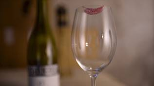 campulou bicchiere rossetto vino