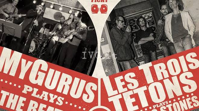 Stasera a Spotorno: MyGurus / The Beatles VS. Les Trois Tetons / The Rolling Stones