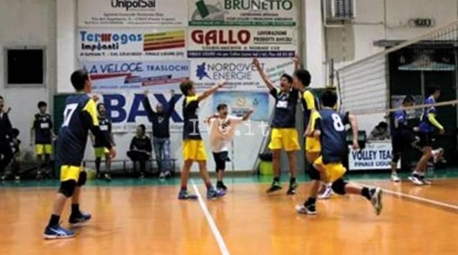 U16M sconfitta dall\' Albisola Volley Gialla