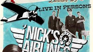 Domenica 23 aprile: RoCkaBilly Dinner #2 – Live Nick's Airlines al circolo Chapeau