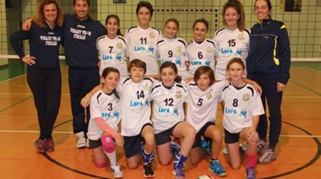 U12 BLU vince 3 a 0 contro Celle Varazze e conquista la vetta della classifica del girone A!!!
