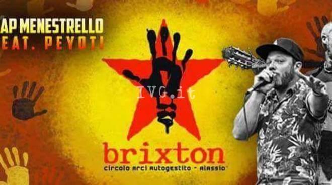 Stasera al Circolo Brixton di Alassio: Alp. King ft. Peyoti