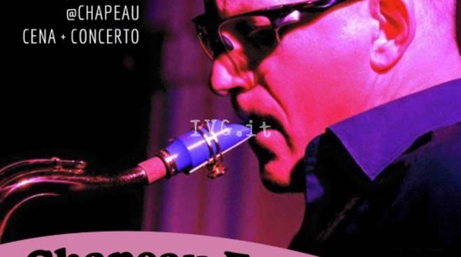 Venerdì 14 aprile Stefano Guazzo Quartet per gli appuntamenti Jazz Night @ al circolo Chapeau di Savona