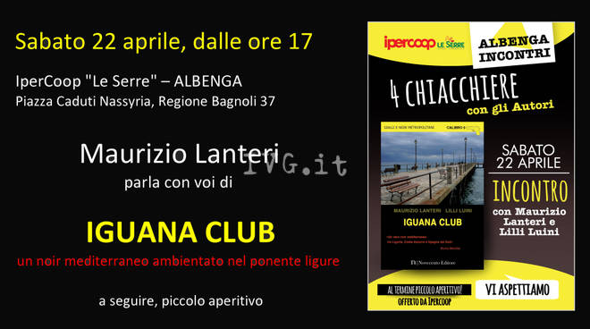"""IGUANA CLUB\"" all\'IperCoop LE SERRE"