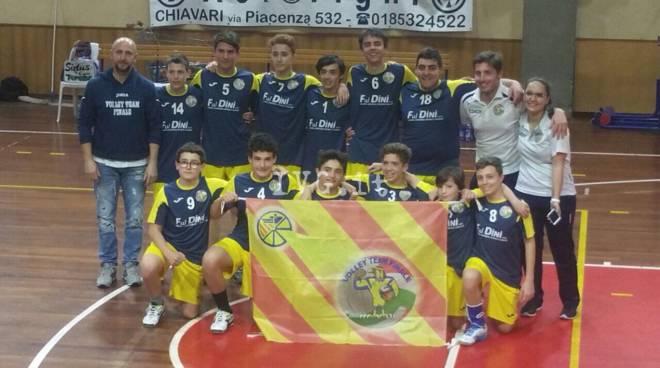 U14M vince concentramento a Lavagna e approda alla finale regionale a Campo Ligure Domenica 30/4!!!