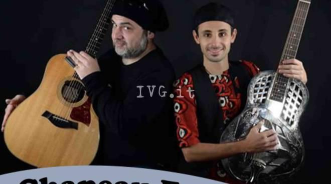 Sabato 15 aprile Claudio Bellato e Lorenzo Piccone in concerto al circolo Chapeau di Savona