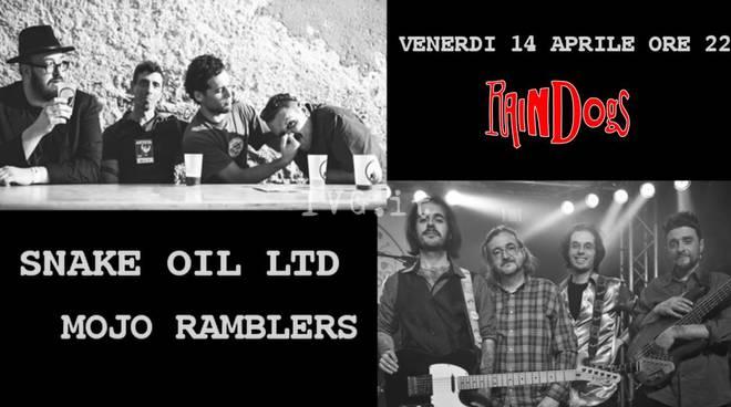 Savona, ai Raindogs: Snake Oil ltd + Mojo Ramblers