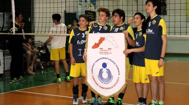 Oggi alle 18.00 la premiazione dell\'Under 14 Maschile del Volley Team Finale, CAMPIONE INTERPROVINCIALE UNDER 14!!!