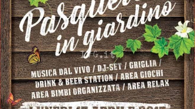 Albenga -  Pasquetta in giardino organizzata da Arci Messico & Nuvole
