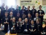 2^ prova Csen: una pioggia di vittorie per le ginnaste dell\'ASD ArteGinnastica!