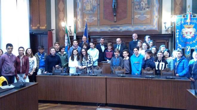Consiglio comunale dei Ragazzi a Rapallo