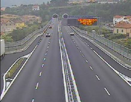 Ponte 25 Aprile Traffico A10