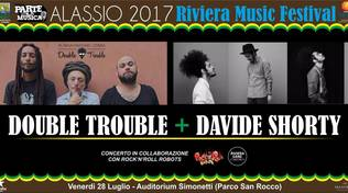 Double Trouble e Davide Shorty in concerto ad Alassio