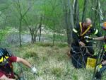 escursionista morto crocefieschi