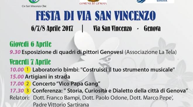 Festa via San Vincenzo