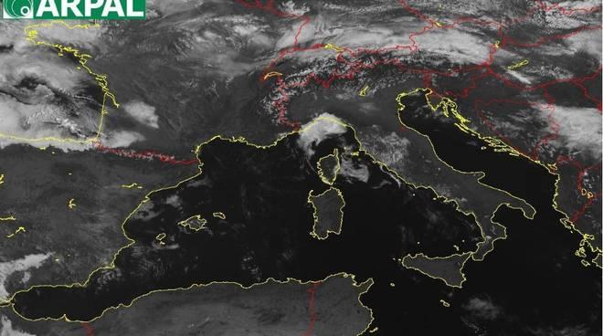 Arpal Previsioni Satellite Pasqua