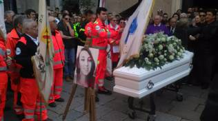 Il funerale di Janira D'Amato