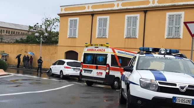 incidente pietra ligure