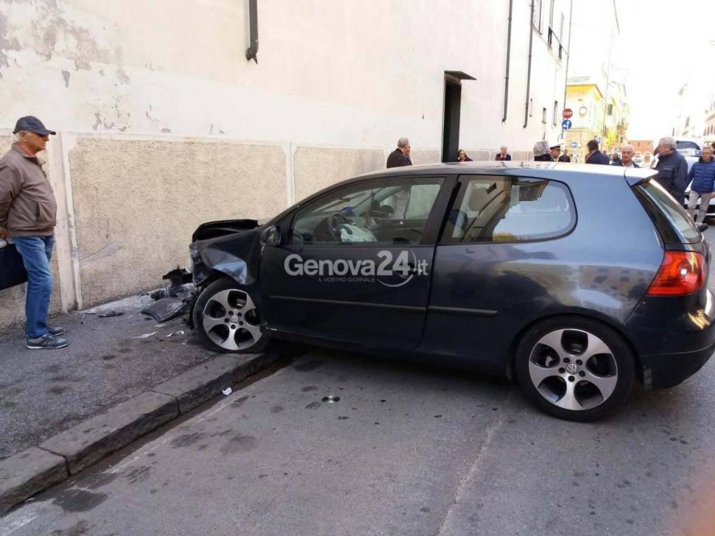 incidente sestri