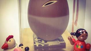 Le uova di pasqua artistiche di Articioc