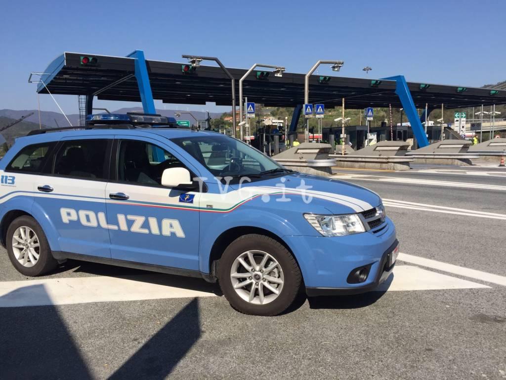 polizia stradale casello savona