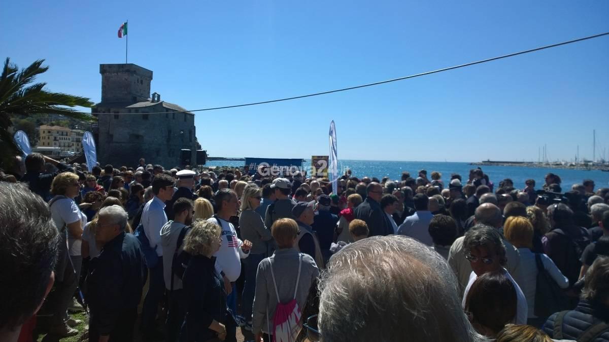 Red carpet Rapallo: Crivello attacca Bucci-Toti, ma i sindaci li difendono
