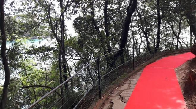 Red carpet da Rapallo a Portofino