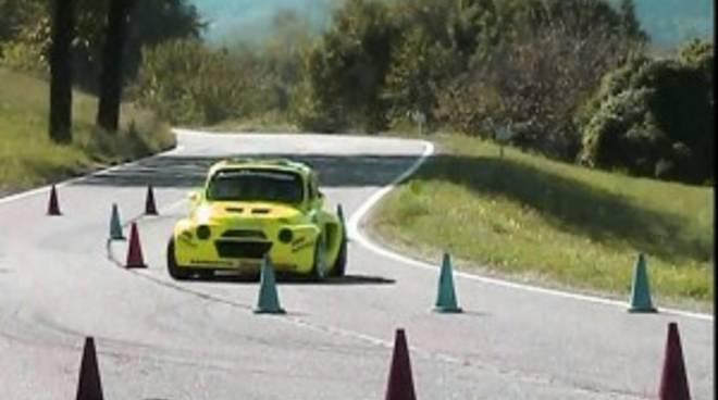 Slalom auto