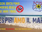 spiaggia senza fumo respiriamo il mare smoking free