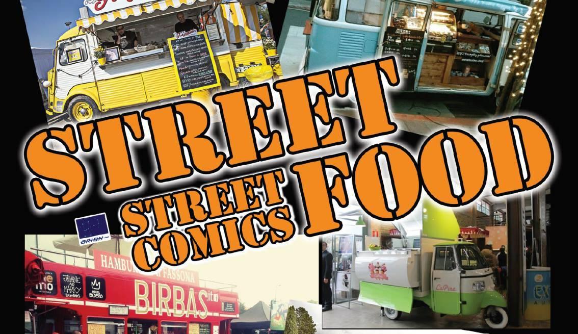 Street Comics Street Food
