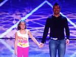 """Sul palco di """"Italia's got talent"""" show arrivano Daniele Scarsi e la piccola Aurora"""