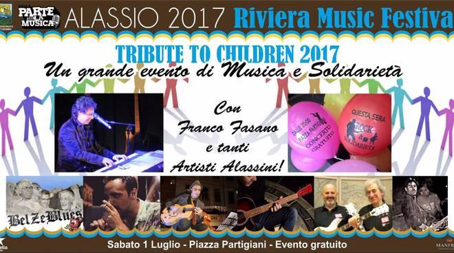 Tribute to children 2017 ad Alassio