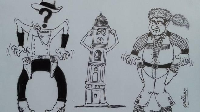 Vignetta Gariano Matteo Pennino Cairo 2017