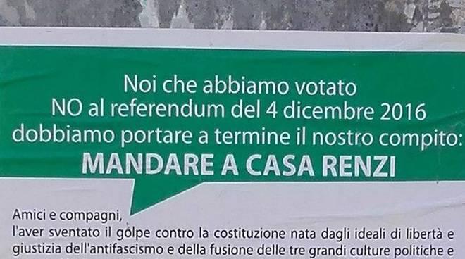 Manifesti Renzi Albisola