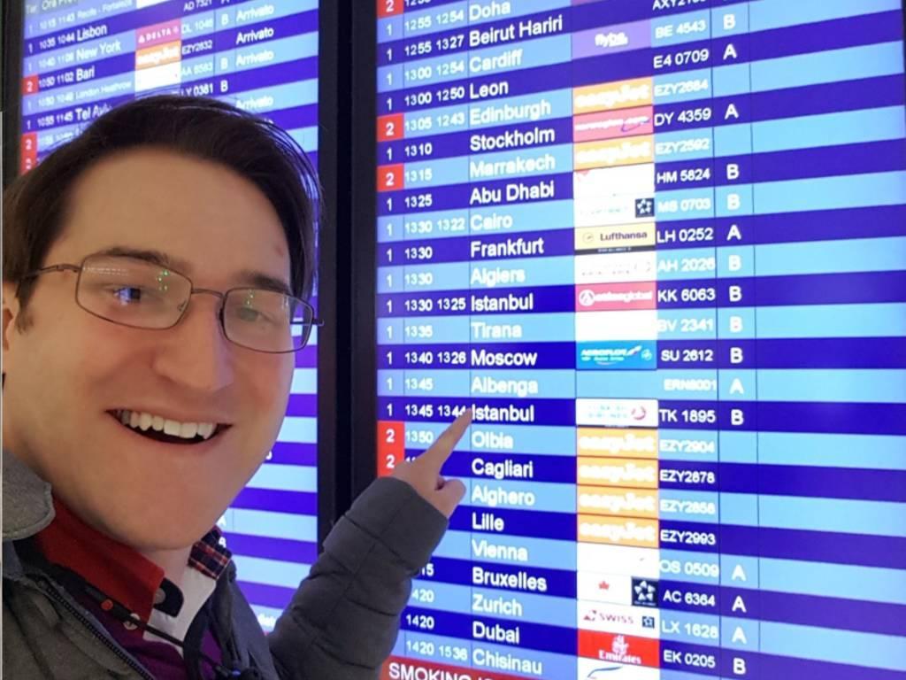 Volo Aeroporto Villanova Malpensa