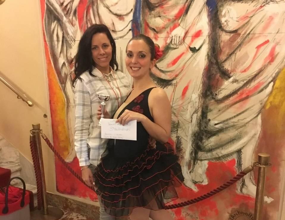 Accademia Cherie Quiliano concorso Modern Tv