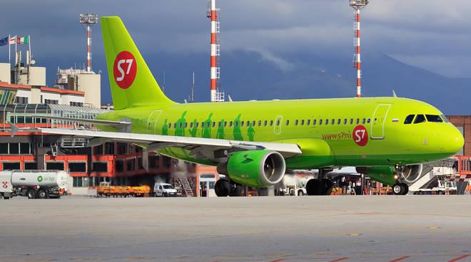 Aereo S7 Aeroporto Genova Mosca