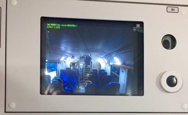 videosorveglianza telecamere vivalto treno